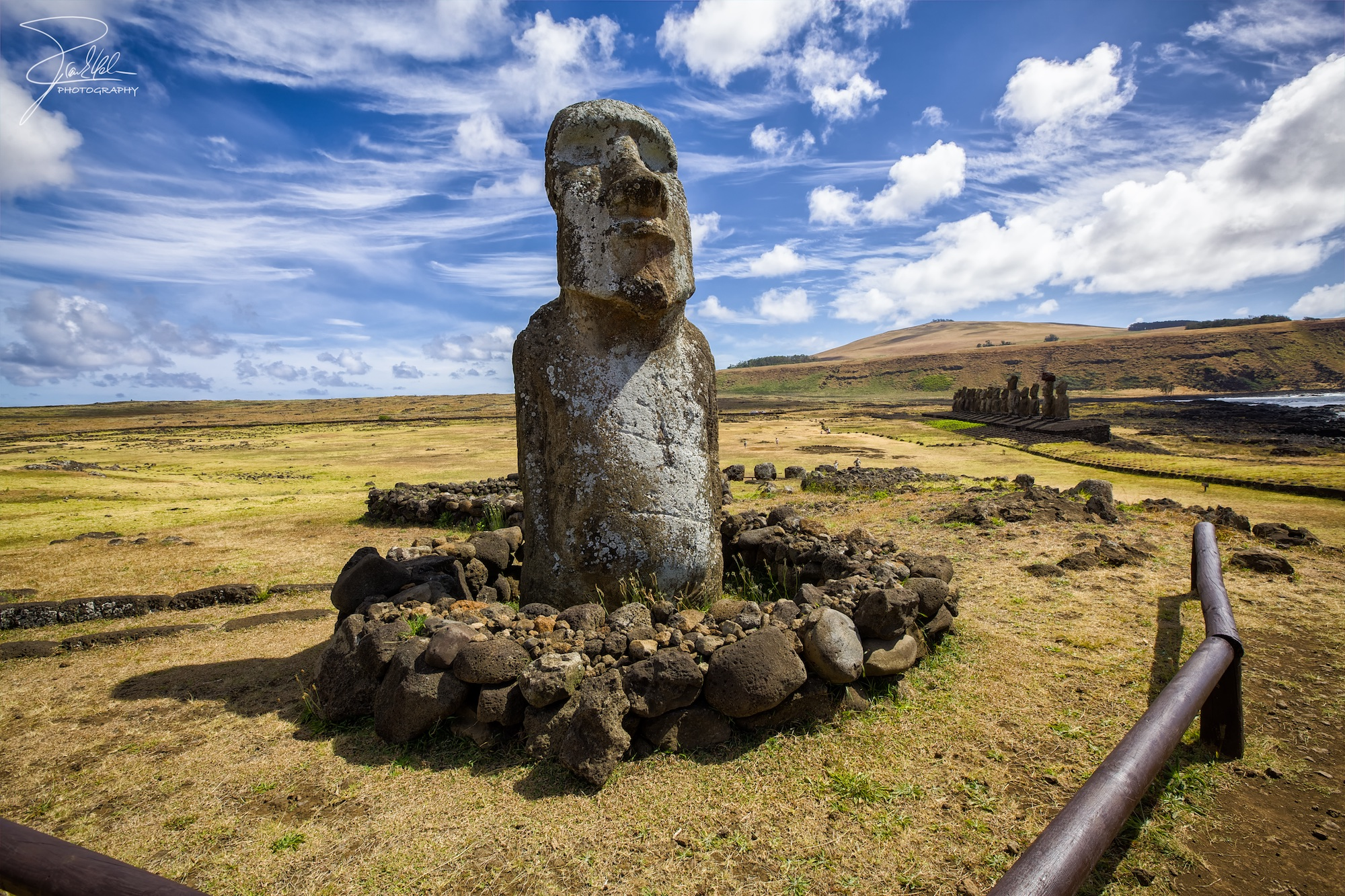 The wrong traveller - Rapa Nui National Park