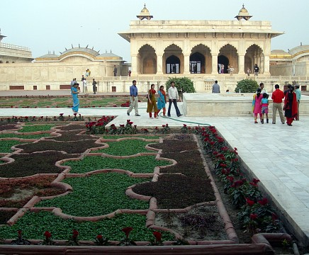 Red Fort - Agra, India - Red