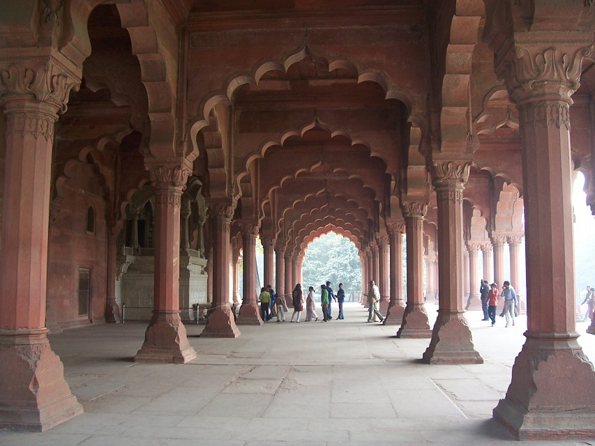 Diwan-i-Am, Red Fort - Red