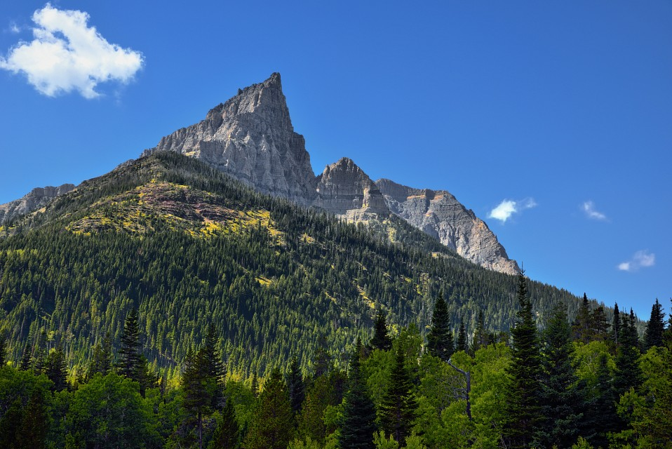 A View of Anderson Peak - Red Rock Canyon