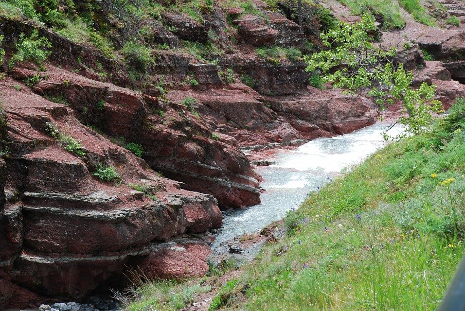 Red Rock Canyon, Waterton Park - Red Rock Canyon