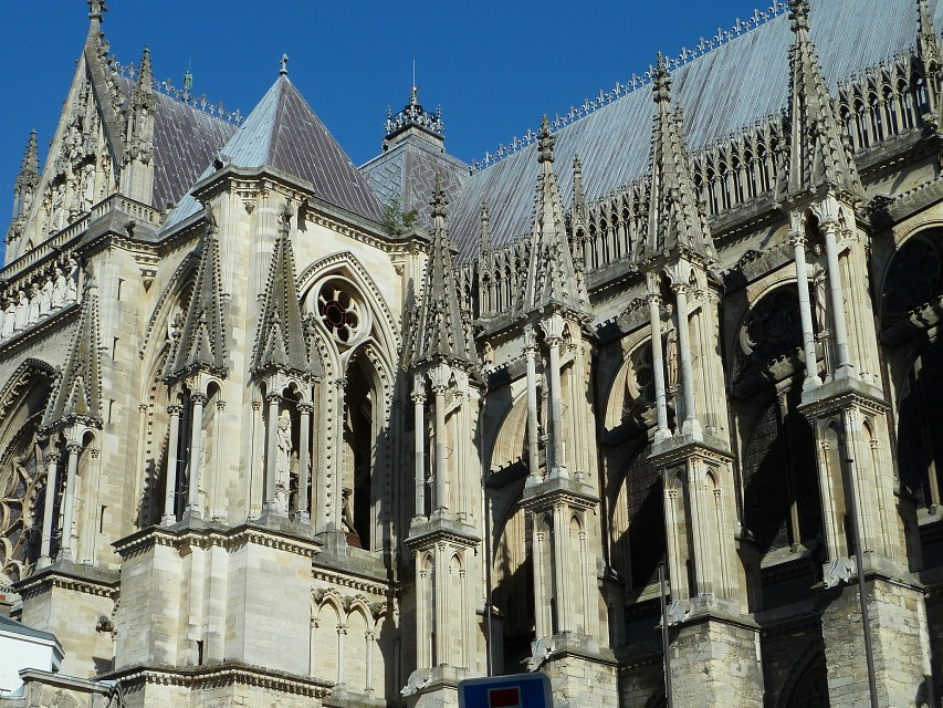 Reims Cathedral Facade - Reims Cathedral