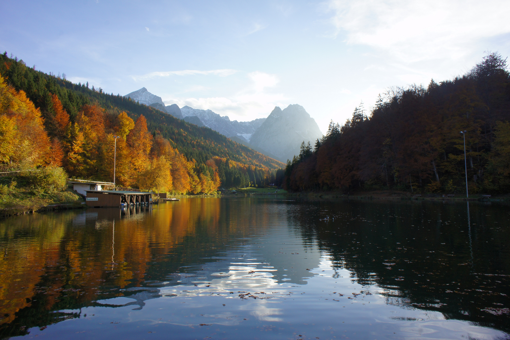 Riessersee Lake In Garmisch Partenkirchen Thousand Wonders
