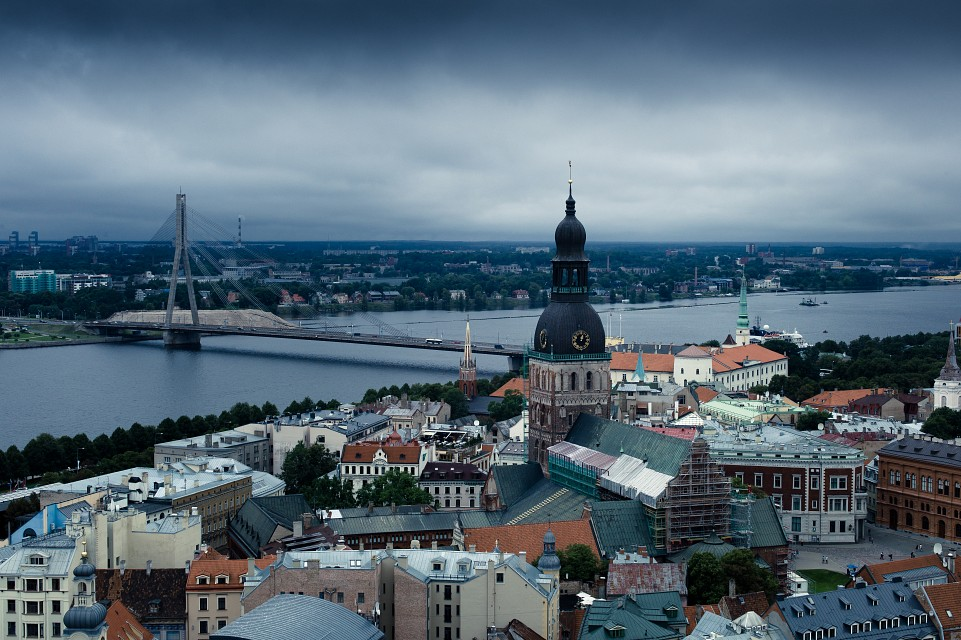 above the roofs of Rīga - Riga