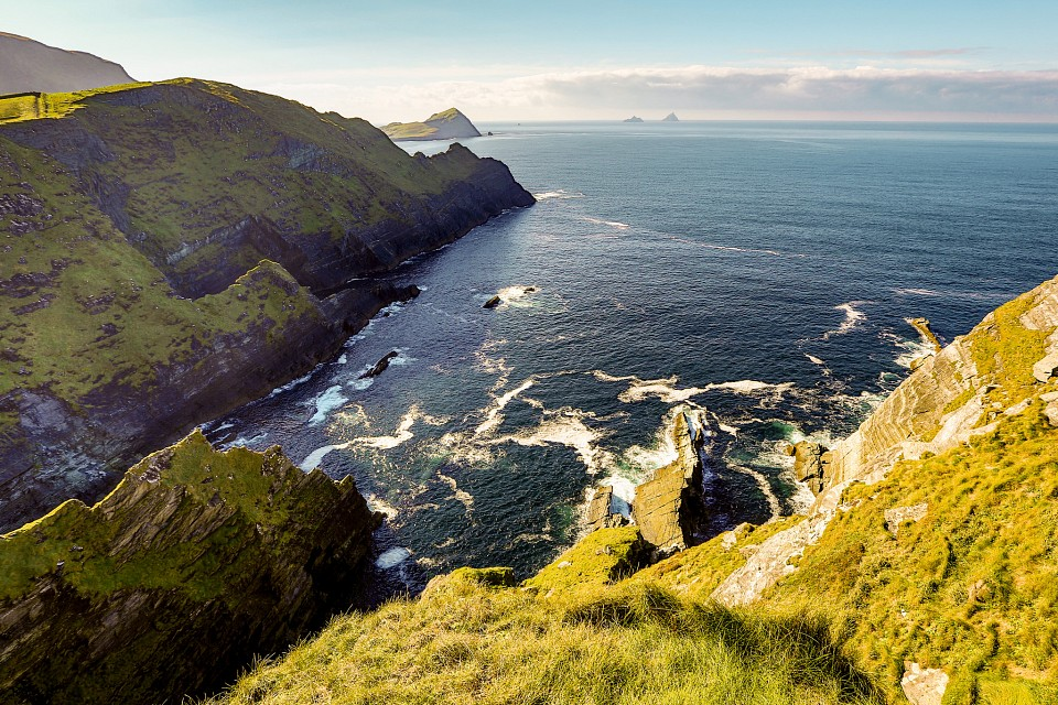 Cliffs of Portmagee - Ring of Kerry