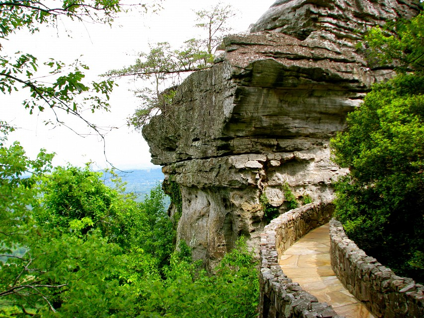 Rock City Mountain In Tennessee Thousand Wonders