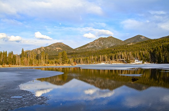 Rocky Mountain Reflections 2 -
