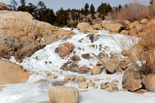 Frozen Waterfall - Rocky