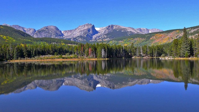 Sprague Lake in Rocky Mountain