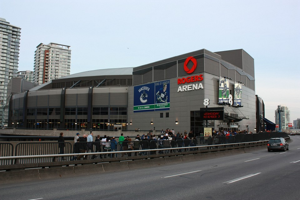Rogers Arena Arena In Vancouver Thousand Wonders