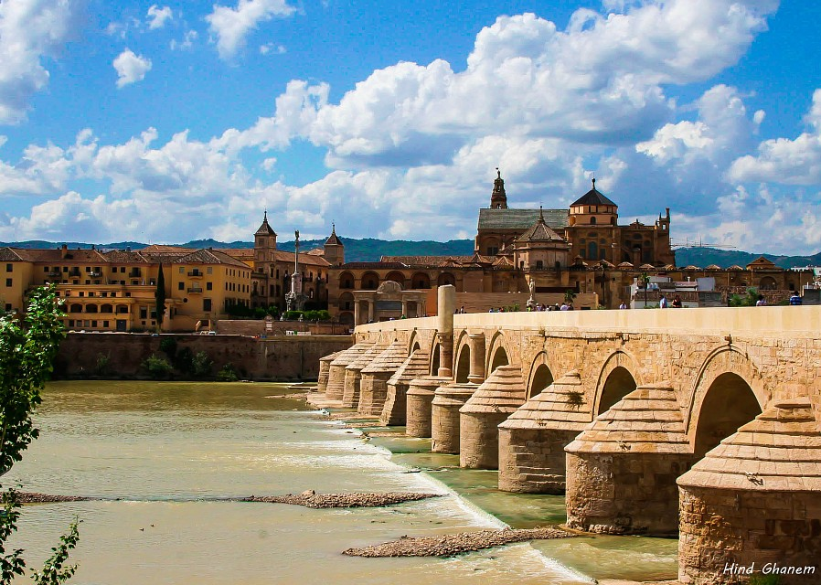 View of the Roman bridge and the city of Córdoba - Roman bridge of Córdoba