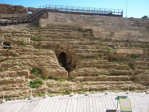 Roman theatre of Cadiz