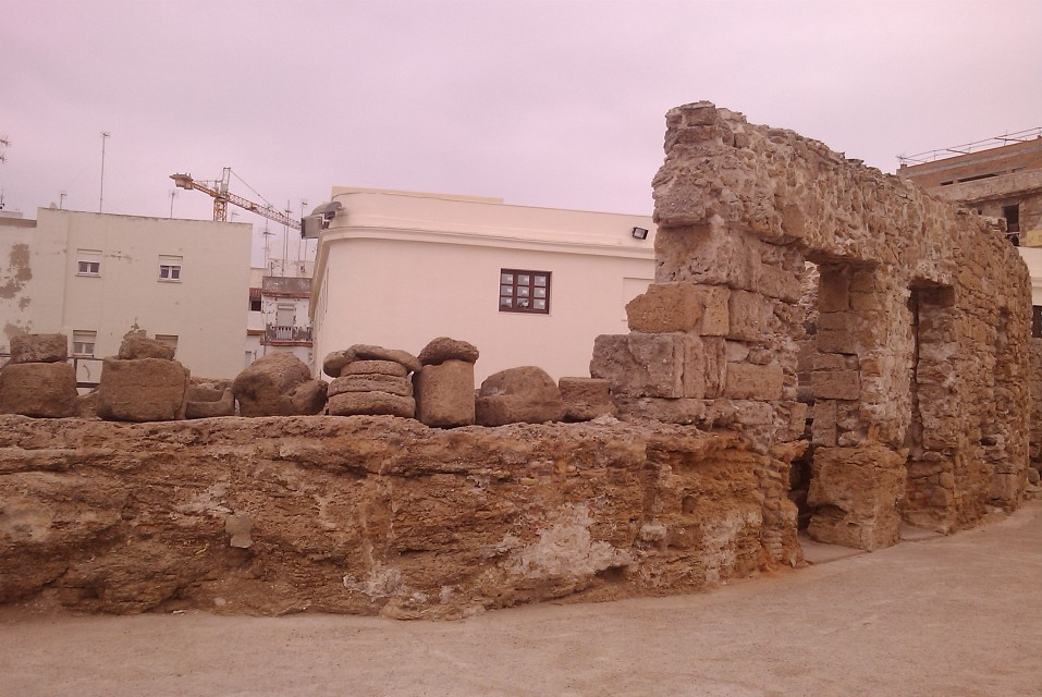 The roman theater of Cadiz - Roman theatre of Cadiz