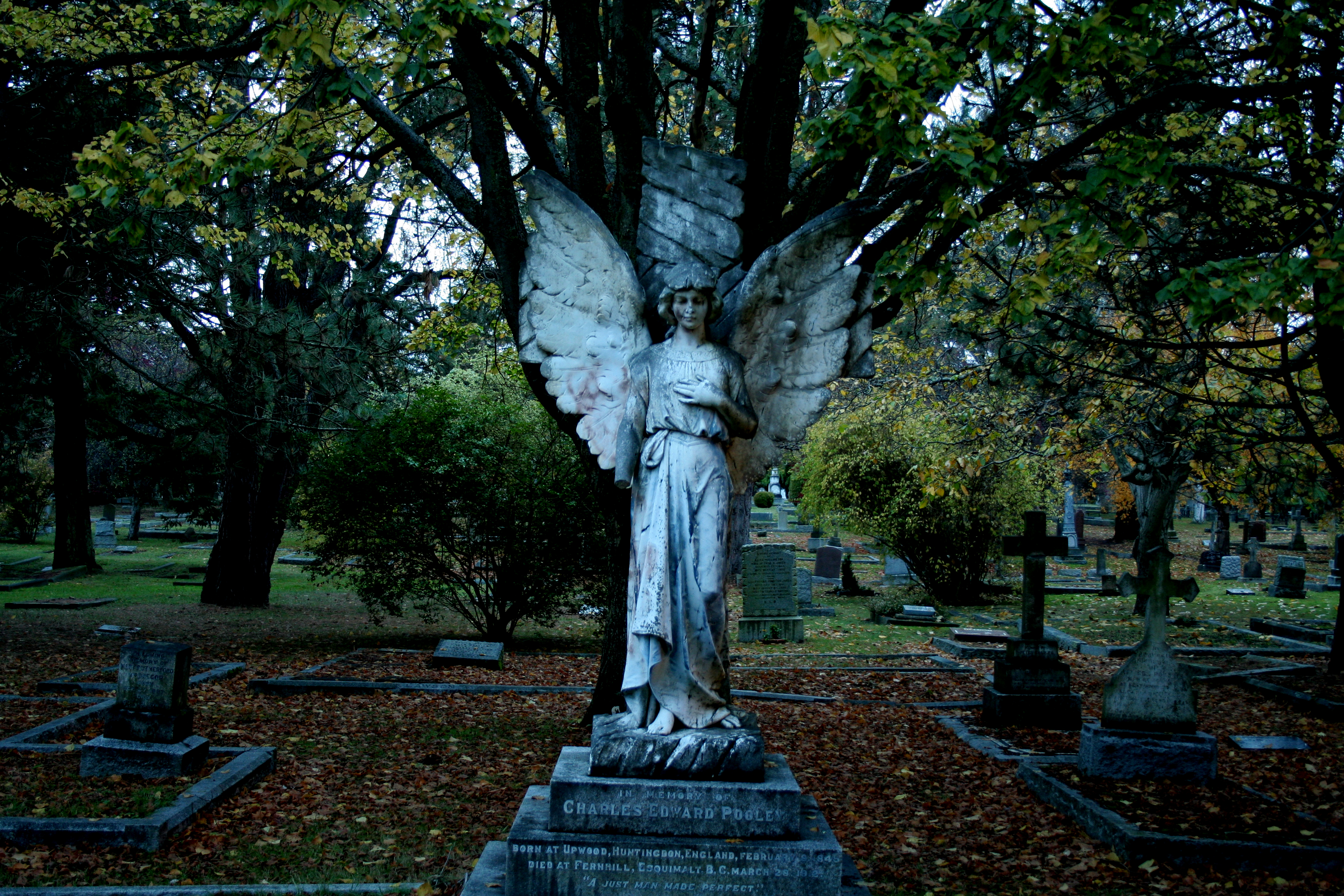 Ross Bay Cemetery - In Victoria