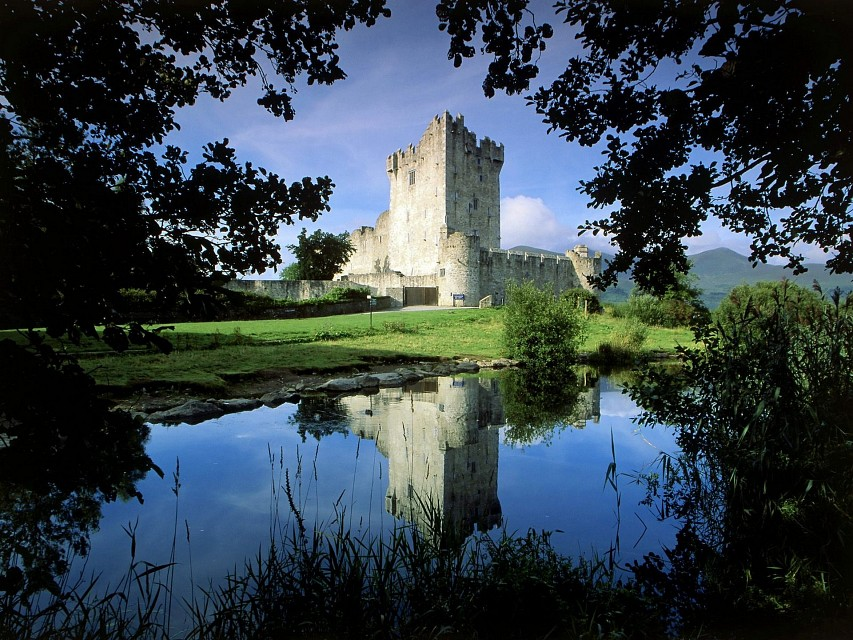 Ross Castle, Killarney National Park, Ireland - Ross Castle