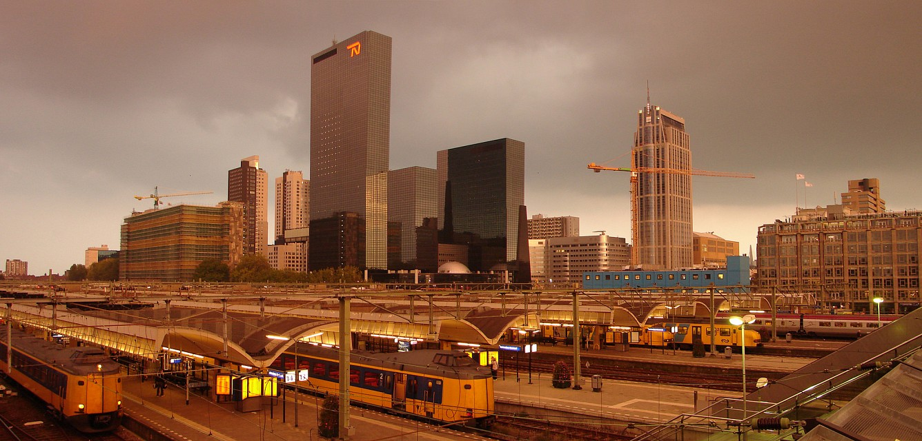 Rotterdam - Het oude centraal station - Rotterdam Centraal railway station