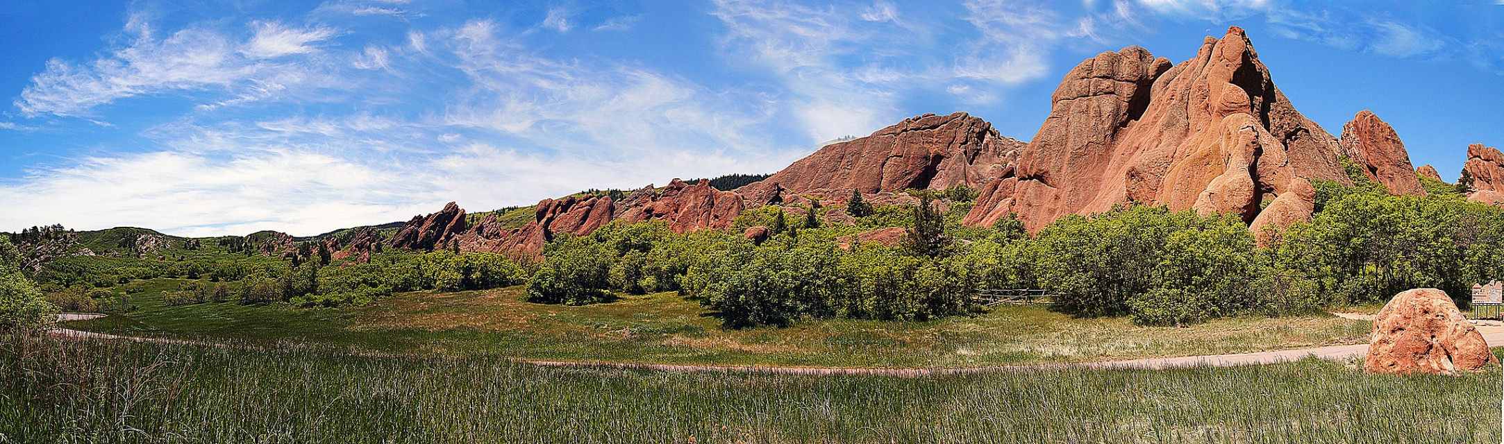 Fountain Valley Trail - Roxborough State Park