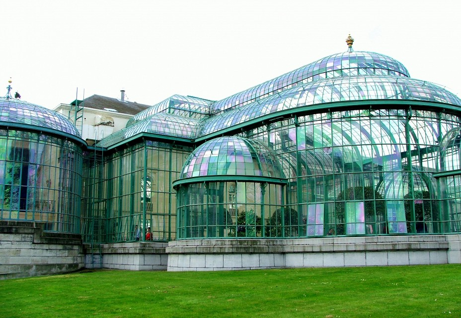 Serres Royales de Laeken - Royal Greenhouses of Laeken