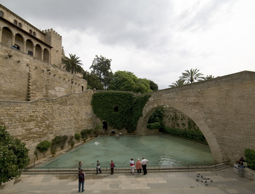 Mallorca, Spain - Royal Palace of La Almudaina