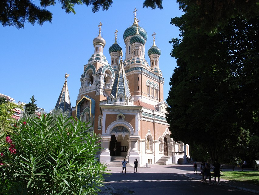 Russian Orthodox Cathedral, Nice - Russian Orthodox Cathedral, Nice