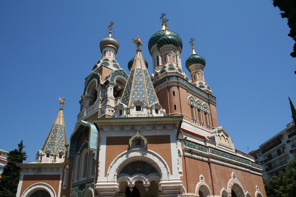 Russian Orthodox Cathedral - Russian Orthodox Cathedral, Nice