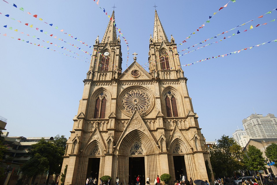 The Cathedral of Sacred Heart of Catholic Diocese of Guangzhou - Sacred Heart Cathedral