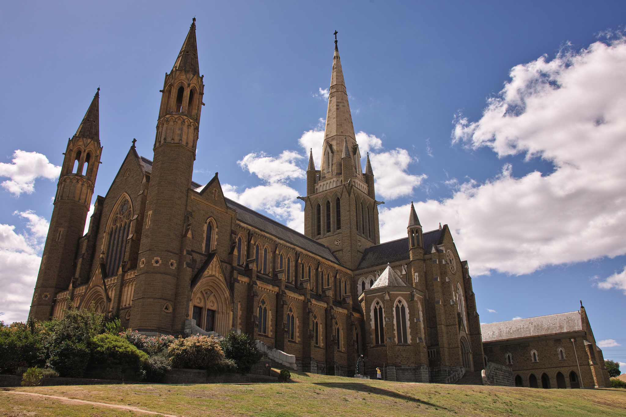 Sacred Heart Cathedral Bendigo Church in Victoria Australia