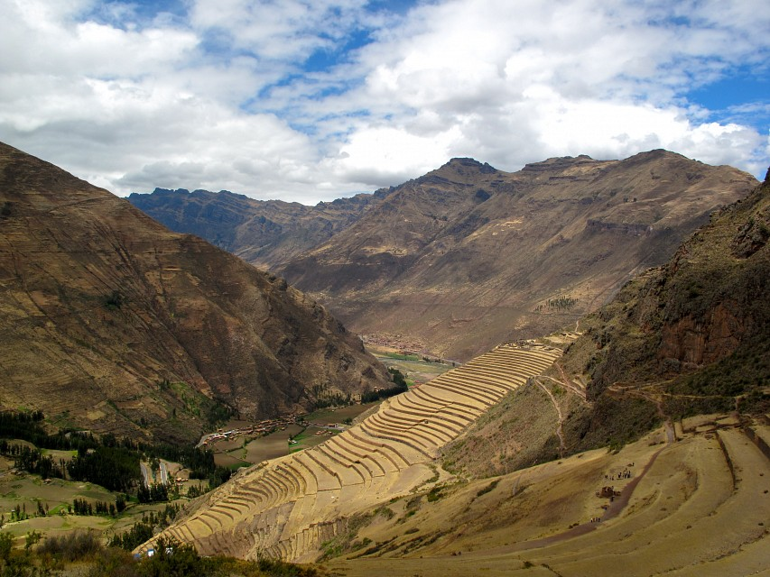 farming terraces - Sacred Valley
