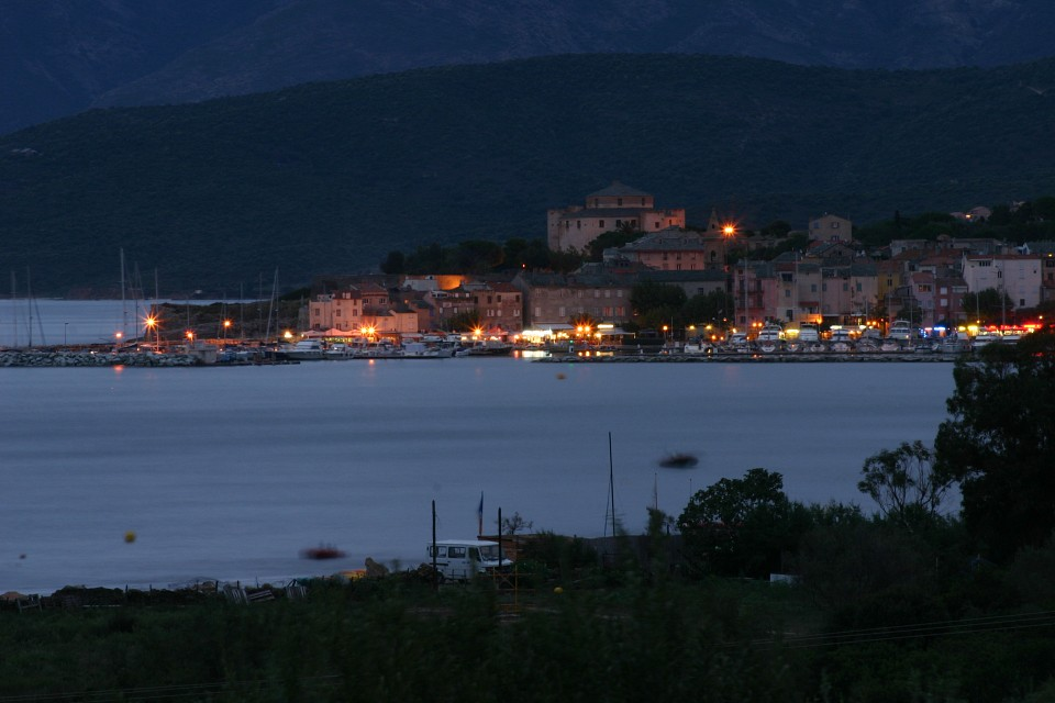 Saint-Florent au crépuscule - Saint-Florent