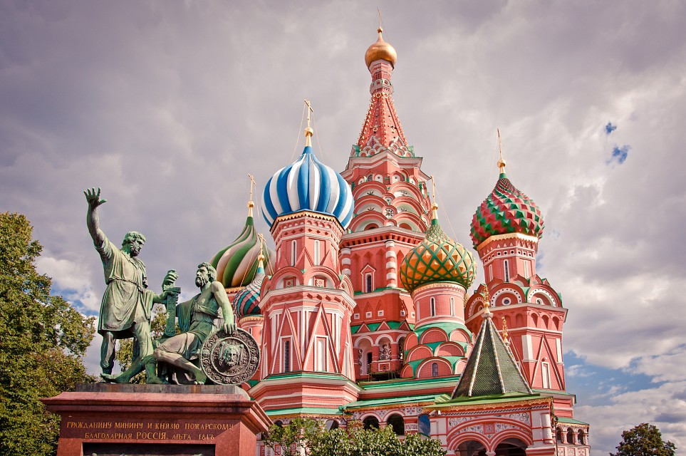 Saint Basil's Cathedral, Moscow - Saint Basil's Cathedral