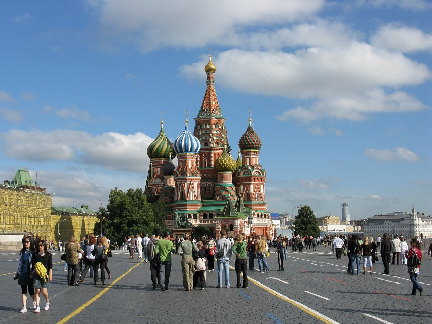 2008 08 04 - 7129 - Moscow - Red Square - Saint Basil's Cathedral