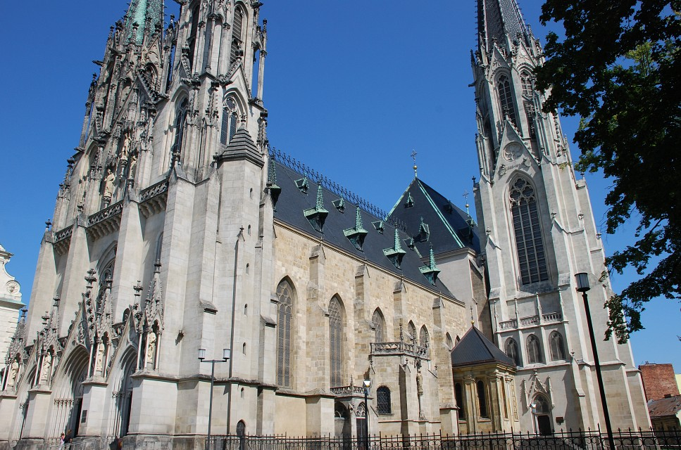 Saint Wenceslas Cathedral, Olomouc - Saint Wenceslas Cathedral