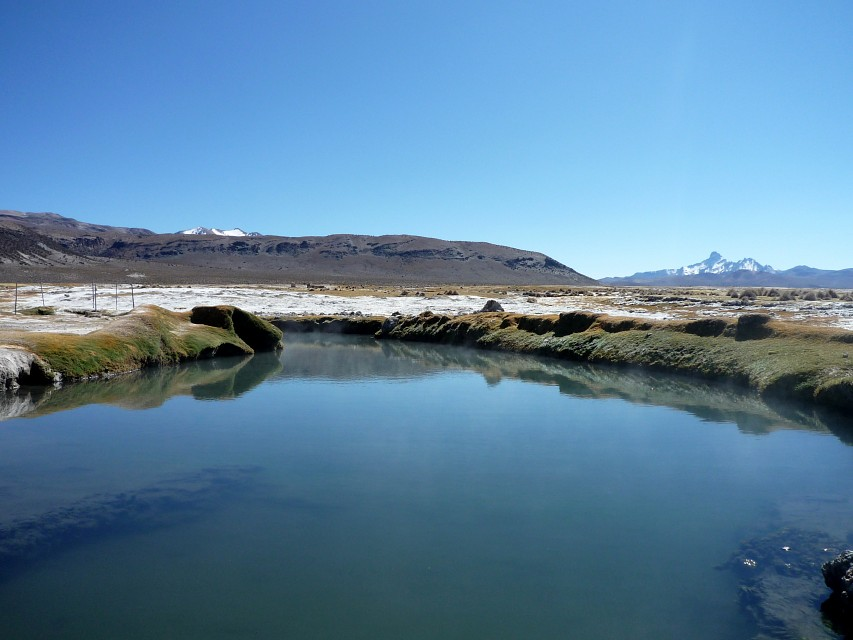 Aqua caliente pool - Sajama National Park