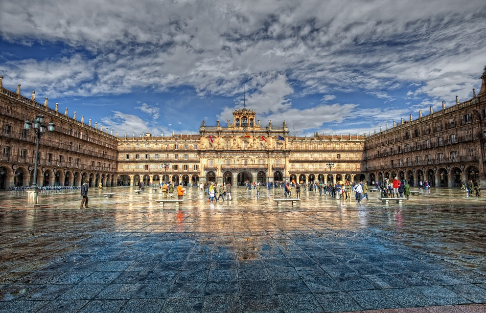 Plaza Mayor, Salamanca (Spain), HDR 2 - Salamanca