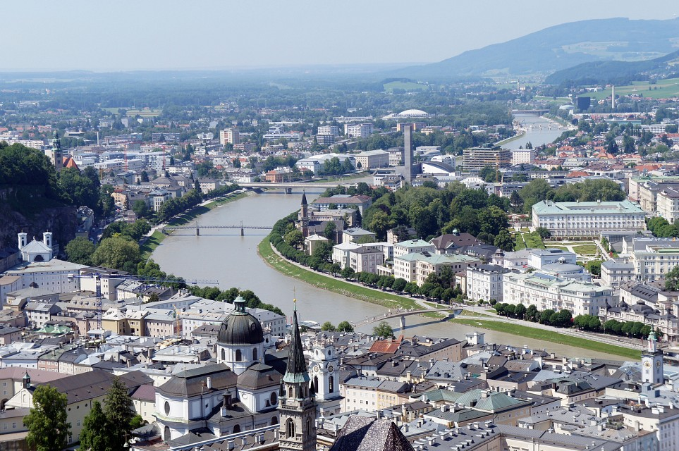 The Bend in the River - Salzburg