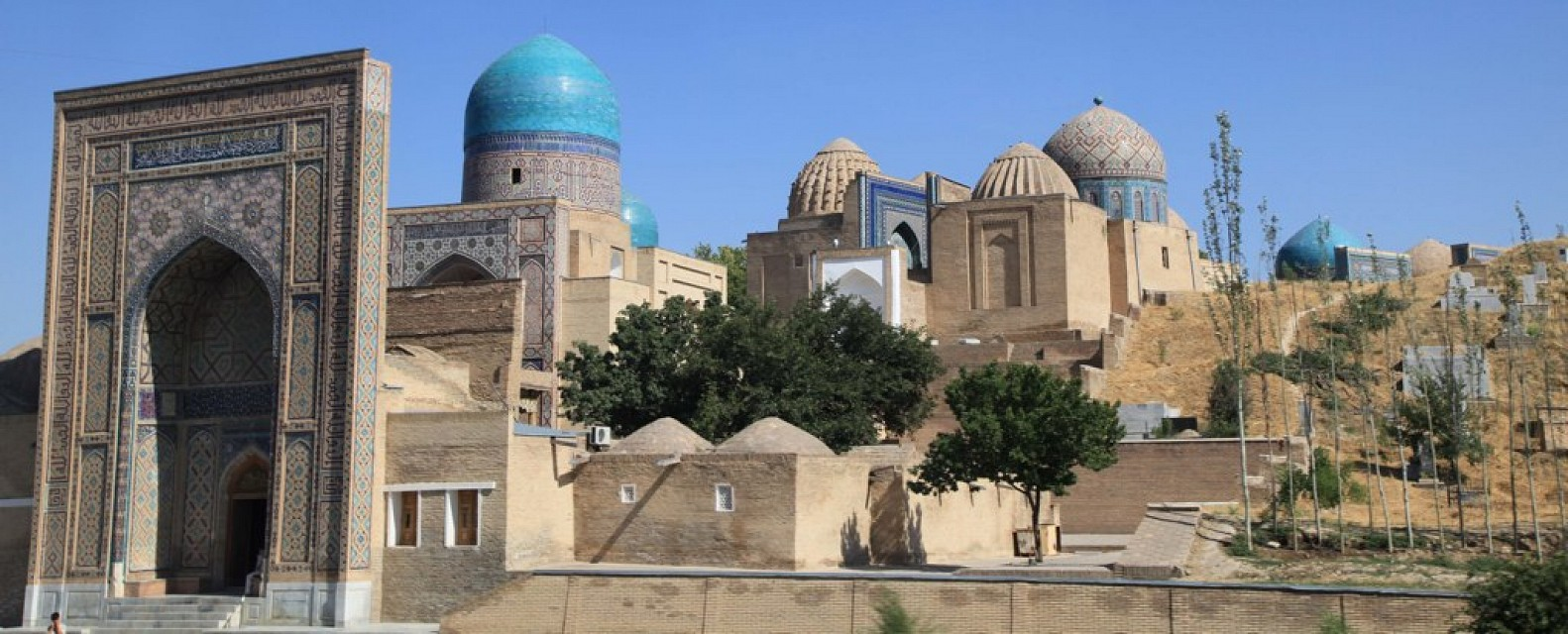 Tombs on the outskirts of Samarkand, Uzbekistan - Samarkand