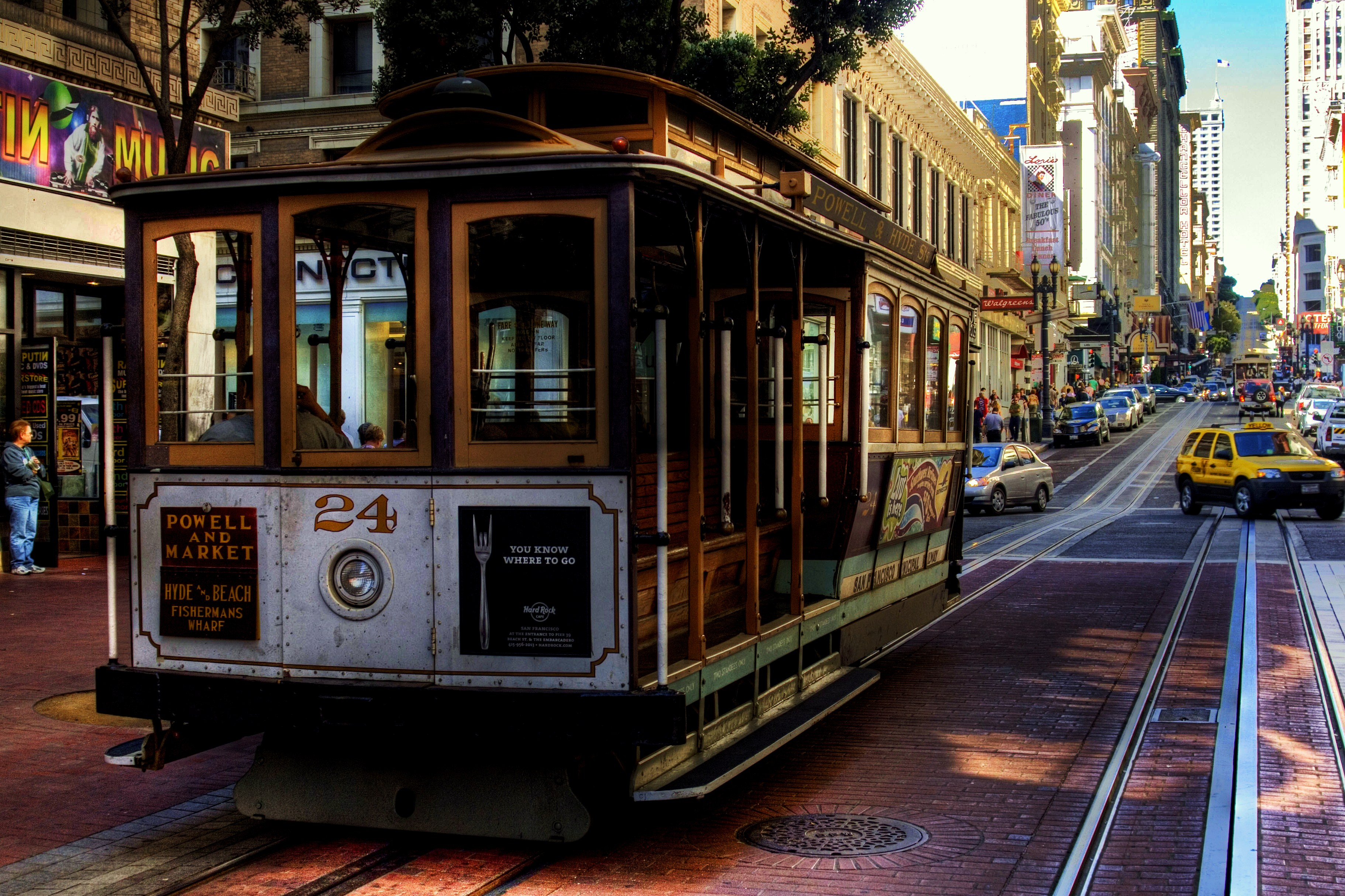 Cable Car Union Square To Fisherman S Wharf