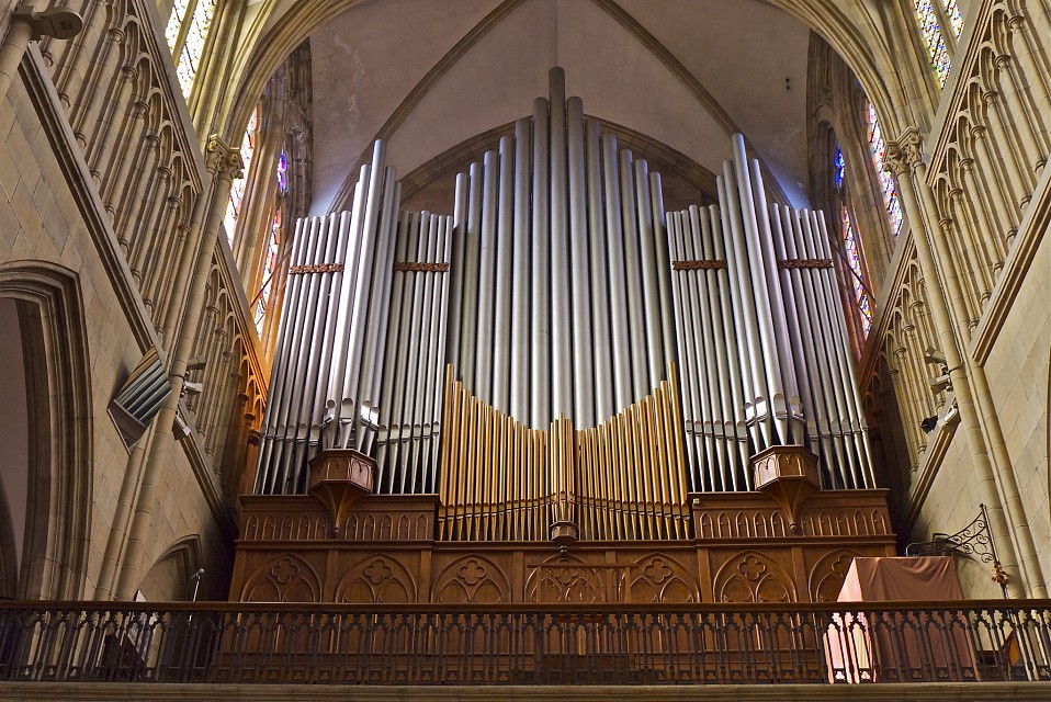 Pipe Organ - San Sebastián Cathedral