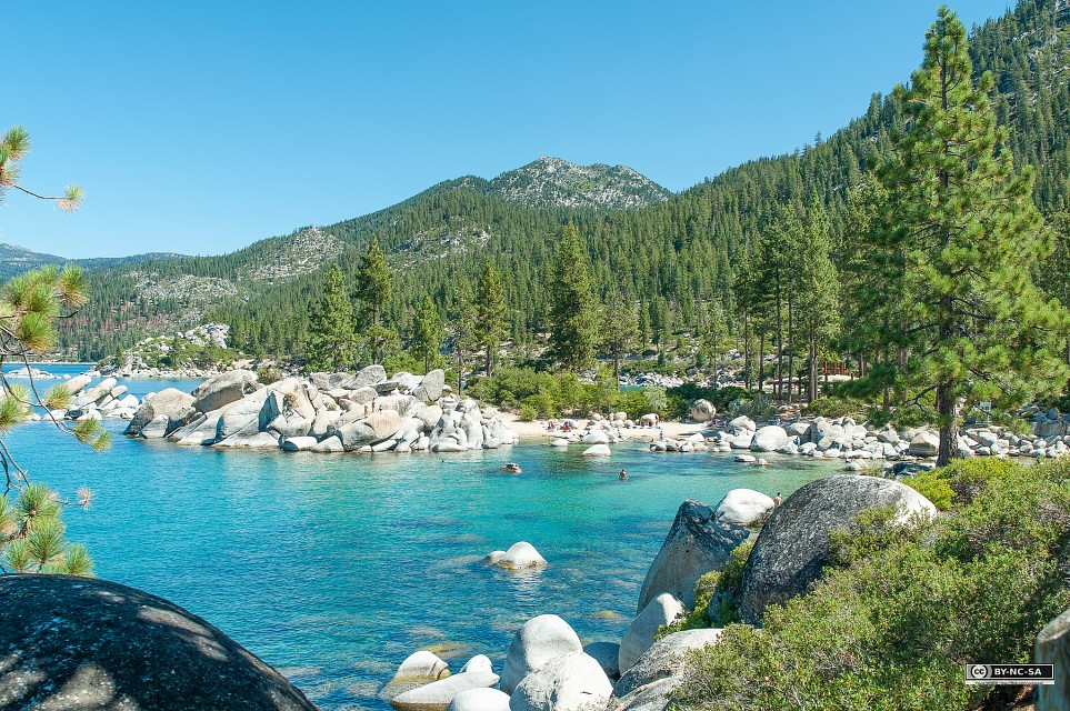 Lake Tahoe, Lac Tahoe, Sand Point (Nevada) - Sand Harbor
