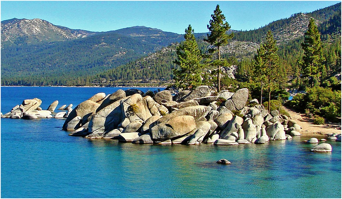 Sand Harbor, Lake Tahoe 9-10 - Sand Harbor