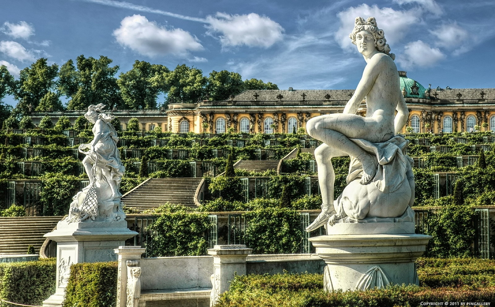 sanssouci park urban park in germany thousand wonders. Black Bedroom Furniture Sets. Home Design Ideas