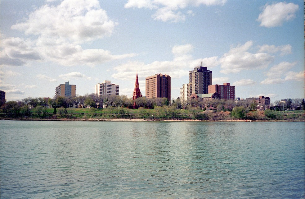 Saskatoon by the River, View from IRG 16 - Saskatoon