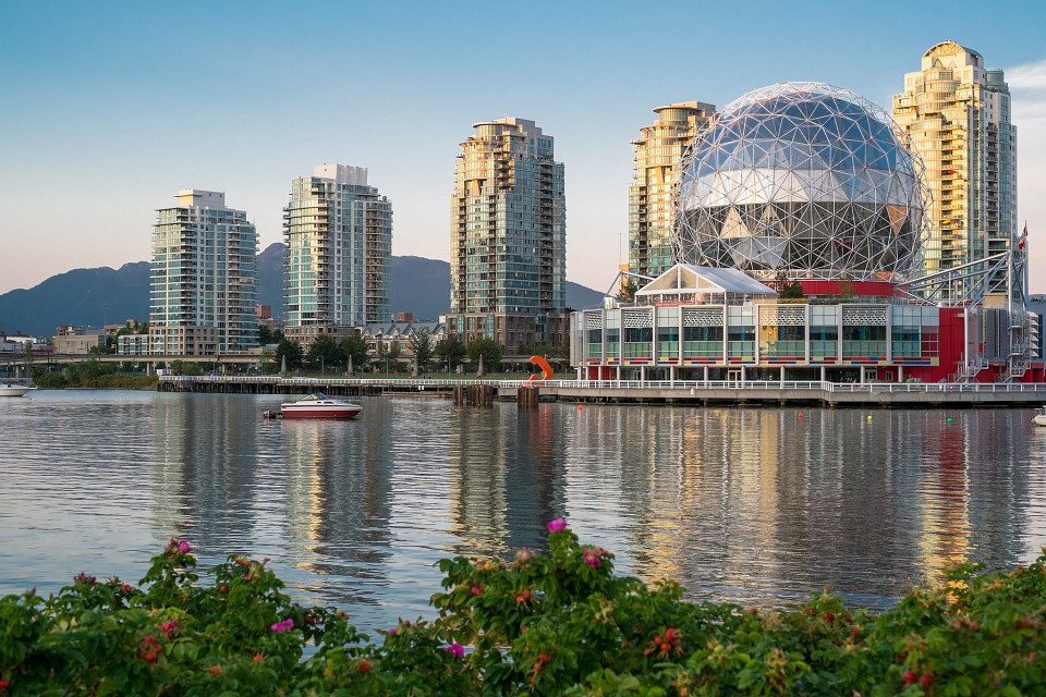 A familiar Vancouver sight - Science World Vancouver