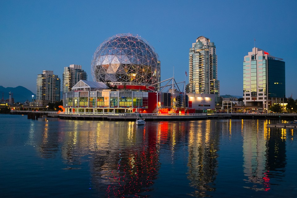 Golf Ball - Science World Vancouver