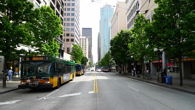 3rd Avenue in Seattle -