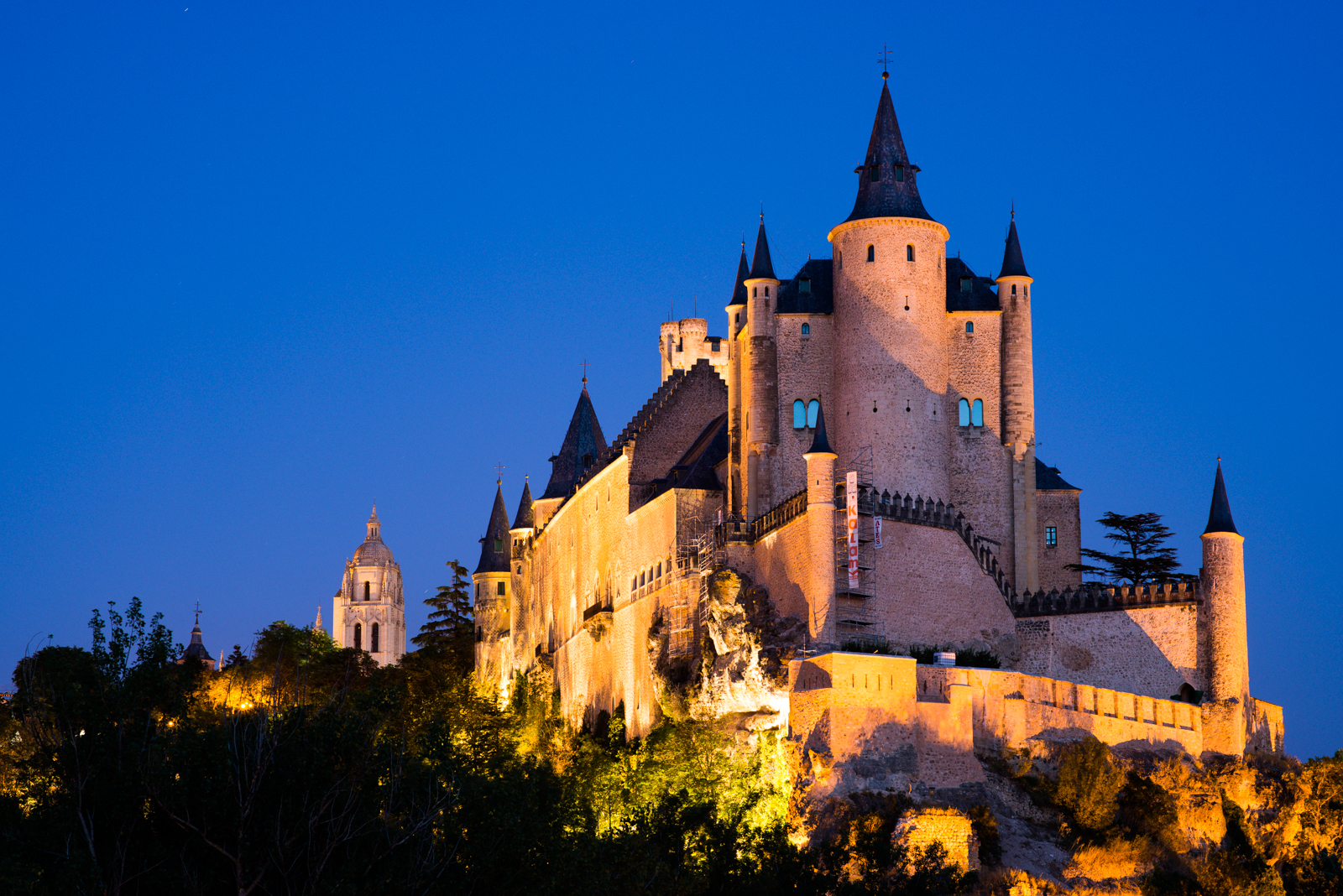 Segovia Castle Castle In Segovia Thousand Wonders
