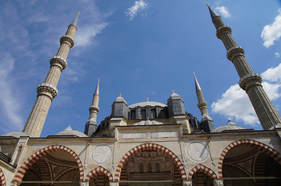 The Selimiye Mosque in Edirne - Selimiye Mosque