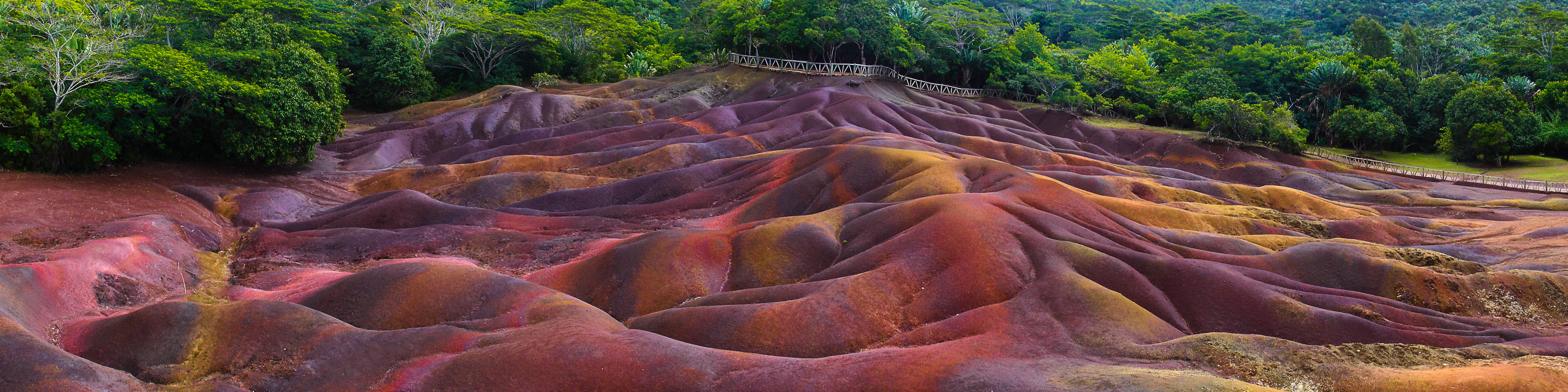 seven colored earths geological feature in mauritius thousand