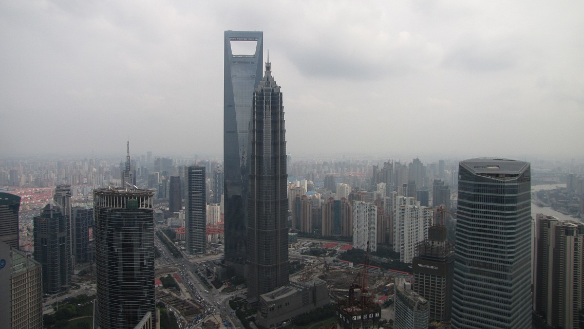 3rd & 8th tallest buildings in the world - Shanghai World Financial Center