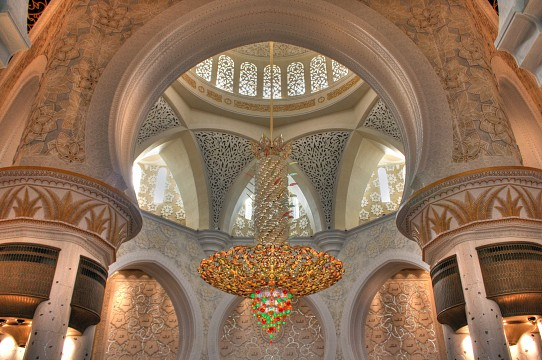 Chandelier - Sheikh Zayed
